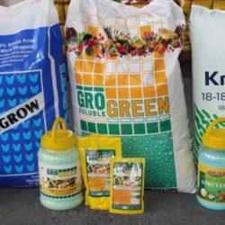 Торове за цветя, тревни килими, декоративни храсти